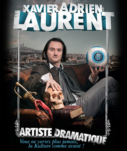 xal cover Xavier Adrien Laurent, Artiste Dramatique