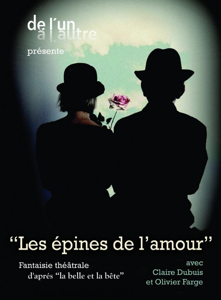 le ptit m epines amour 754x1024 Olivier FARGE et Claire DUBUIS les epines de l'amour